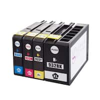 Sophia Global Compatible Ink Cartridge Replacement for HP 932XL and 933XL (1 Black, 1 Cyan, 1 Magenta, 1 Yellow)