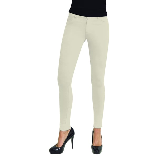 1f2262d395a5d Buy Off-White Leggings Online at Overstock | Our Best Pants Deals