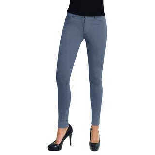 MeMoi Women's Color Ponte Leggings