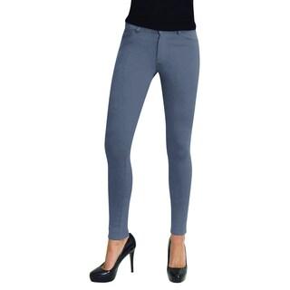 MeMoi Women's Color Ponte Leggings