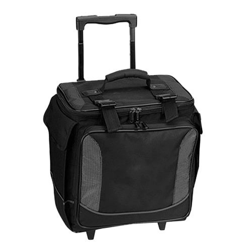 b971de7cbb7 Shop Goodhope 12-bottle limo rolling wine case w  dual handle - Free  Shipping Today - Overstock.com - 10116129