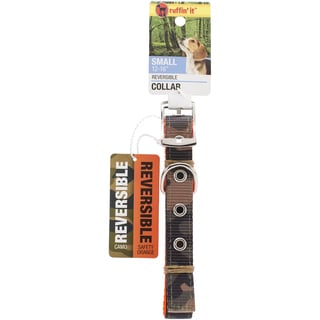 Small Reversible Collar 1216inCamo/Safety Orange