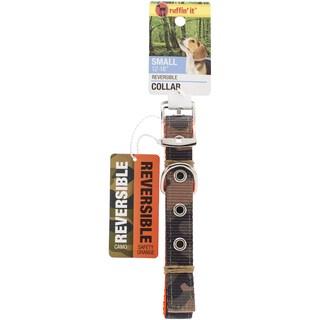 Small Reversible Collar 1216inCamo/Safety Orange