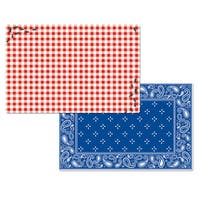 Picnic Guests Reversible Decofoam Placemats (Set of 4)