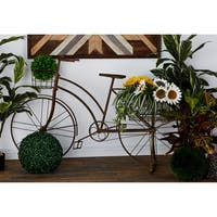 39-inch Metal Bicycle Planter