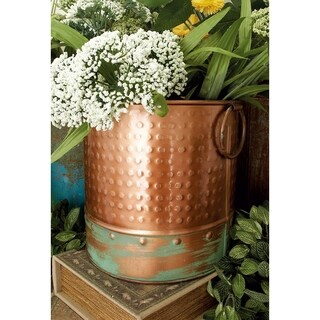 Round Metal Planter (Set of 4)