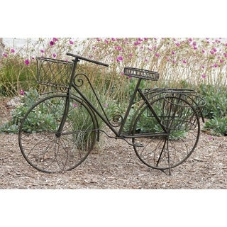 31-inch Metal Bicycle Planter