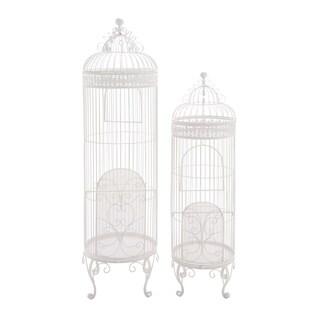 50-inch Metal Bird Cage (Set of 2)