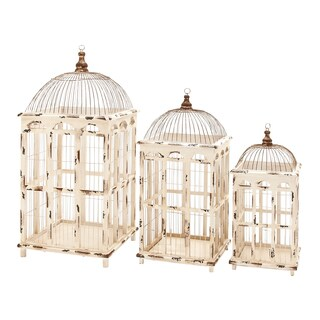 Metal Bird Cage (Set of 3)