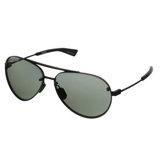 Under Armour Double Down Satin Black Storm Polarized Sunglassses
