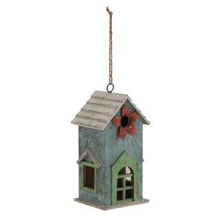 21-inch Wood Birdhouse