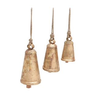 Metal Long Bell (Set of 3)