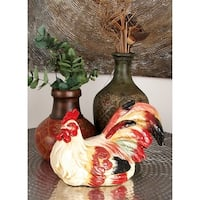 Ceramic 9-inch Rooster