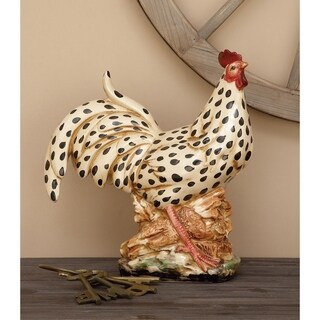 Ceramic 14-inch Rooster