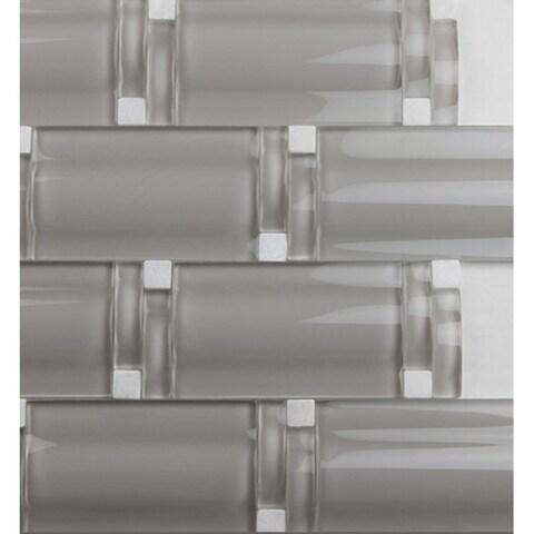 Martini Mosaic Maree Warm Gray (Set of 5)