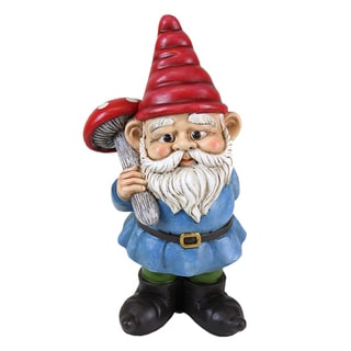 Gnomes Outdoor 2 Light Led Solar Lamp 12915156