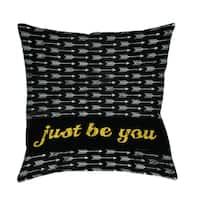 Be You Decorative Pillow