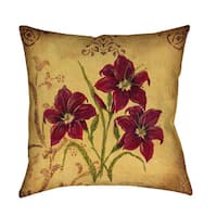 Crimson III Indoor/ Outdoor Pillow