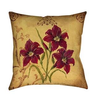 Crimson III Indoor/ Outdoor Pillow