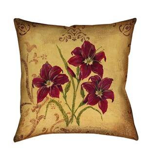 Thumbprintz 'Crimson III' Decorative Pillow