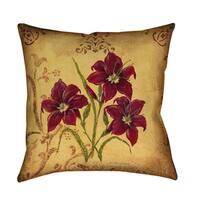 Crimson III' Decorative Pillow