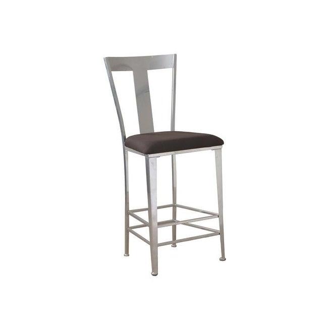 Powell Furniture Joelle Barstool (Metal Contemporary Bar ...
