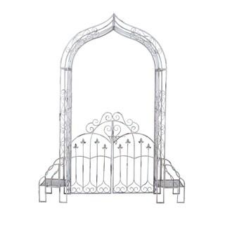 Metal 91-inch Garden Gate