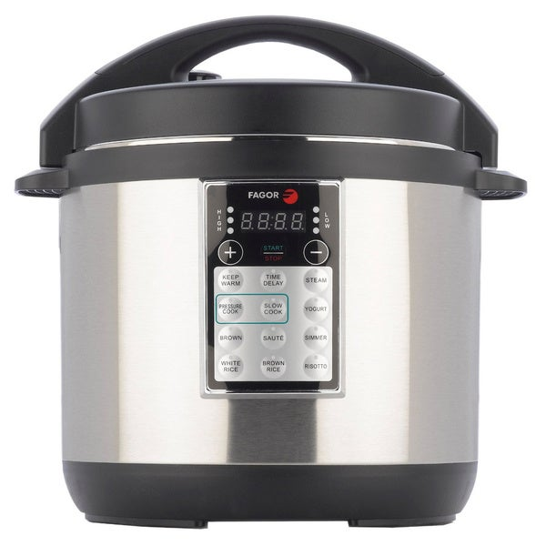 Fagor America Lux Stainless Steel 6-quart Multi Cooker