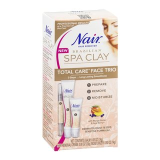 Nair Brazilian Spa Clay Total Care Face Trio