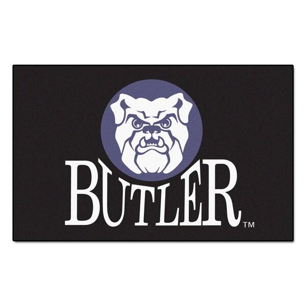 Fanmats Machine-Made Butler University Black Nylon Ulti-Mat (5' x 8')