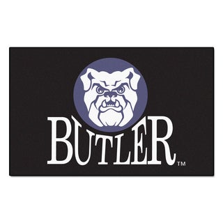 Fanmats Machine-Made Butler University Black Nylon Ulti-Mat (5' x 8')