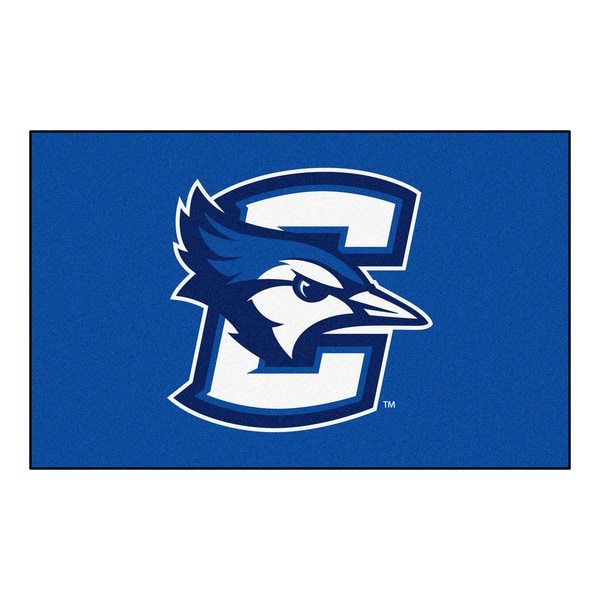 Fanmats Machine-Made Creighton University Blue Nylon Ulti-Mat (5' x 8')