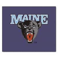 Fanmats Machine-Made University of Maine Purple Nylon Ulti-Mat (5' x 8')