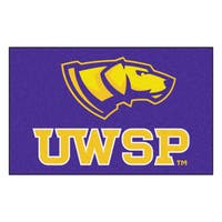 Fanmats Machine-Made University of Wisconsin - Stevens Point Purple Nylon Ulti-Mat (5' x 8')