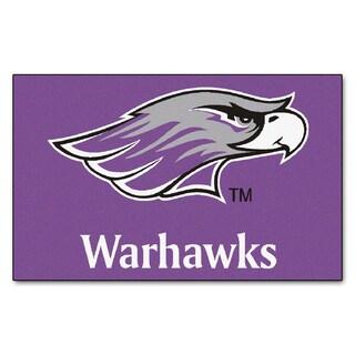 Fanmats Machine-Made University of Wisconsin - Whitewater Purple Nylon Ulti-Mat (5' x 8')