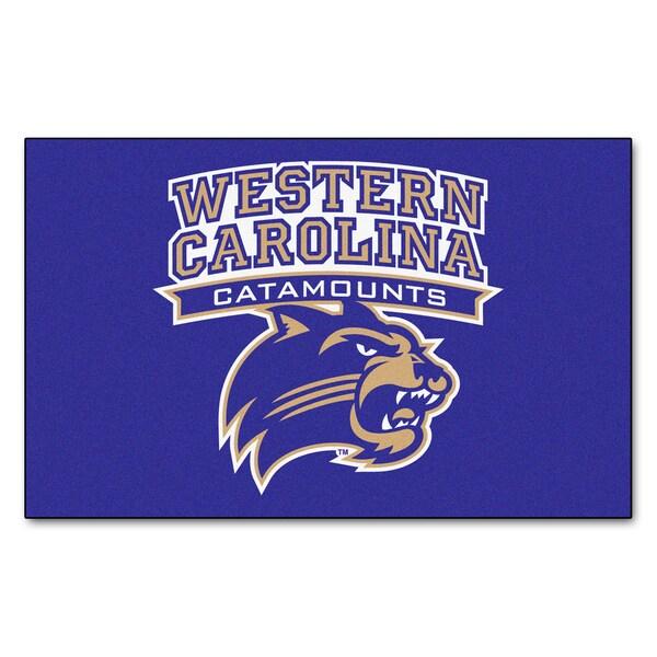 Fanmats Machine-Made Western Carolina University Purple Nylon Ulti-Mat (5' x 8')