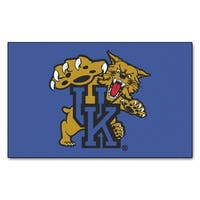 Fanmats Machine-Made University of Kentucky Blue Nylon Ulti-Mat (5' x 8')