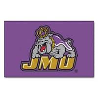 Fanmats Machine-Made James Madison University Purple Nylon Ulti-Mat (5' x 8')
