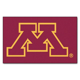 Fanmats Machine-Made University of Minnesota Red Nylon Ulti-Mat (5' x 8')