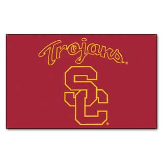 Fanmats Machine-Made University of Southern California Red Nylon Ulti-Mat (5' x 8')|https://ak1.ostkcdn.com/images/products/10116804/P17255970.jpg?impolicy=medium