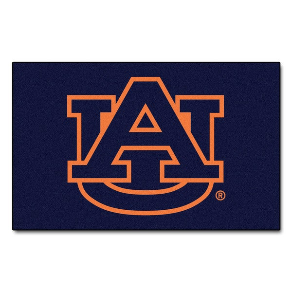 Fanmats Machine-Made Auburn University Blue Nylon Ulti-Mat (5' x 8')