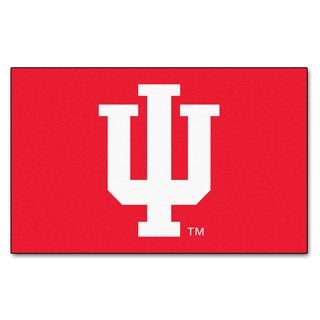 Fanmats Machine-Made Indiana University Red Nylon Ulti-Mat (5' x 8')