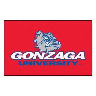 Fanmats Machine-Made Gonzaga University Red Nylon Ulti-Mat (5' x 8')