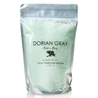 Dorian Grey Eucalyptus Mint Luxury Mineral Sea Salt Bath Soak