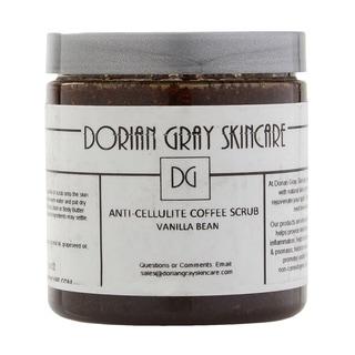 Dorian Gray Skincare Anti-cellulite Coffee Scrub Sweet Vanilla Bean