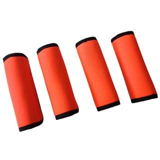Super Grabber Neon Orange 4-piece Handle Wrap Grip Luggage Spotter Set