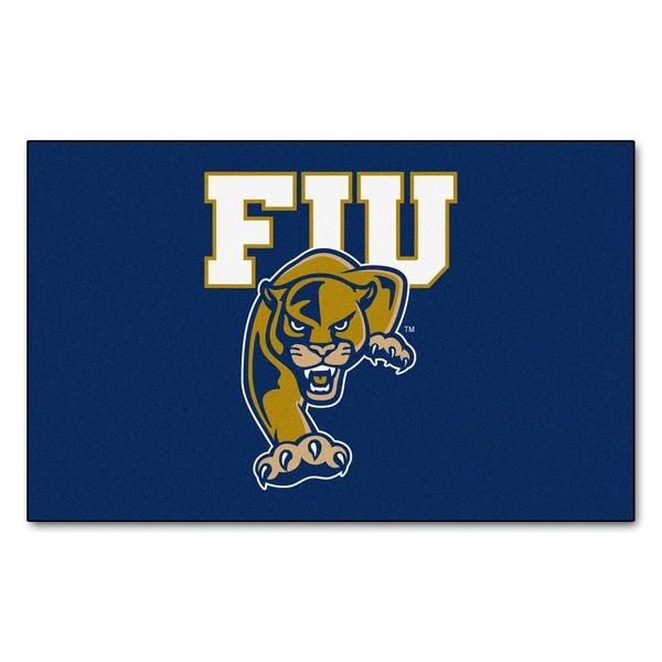 Fanmats Machine-Made Florida International University Blue Nylon Ulti-Mat (5' x 8')