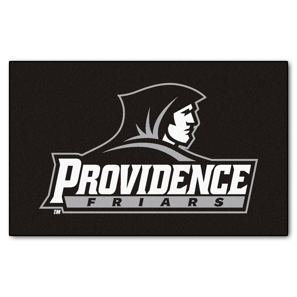 Fanmats Machine-Made Providence College Black Nylon Ulti-Mat (5' x 8')