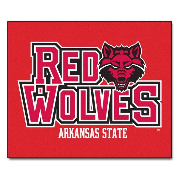 Fanmats Machine-Made Arkansas State University Red Nylon Ulti-Mat (5' x 8')