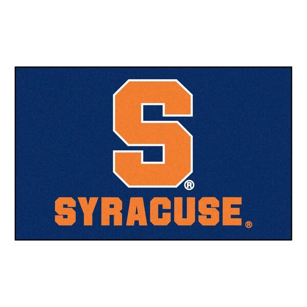 Fanmats Machine-Made Syracuse University Blue Nylon Ulti-Mat (5' x 8')